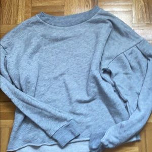 American eagle grey crew neck
